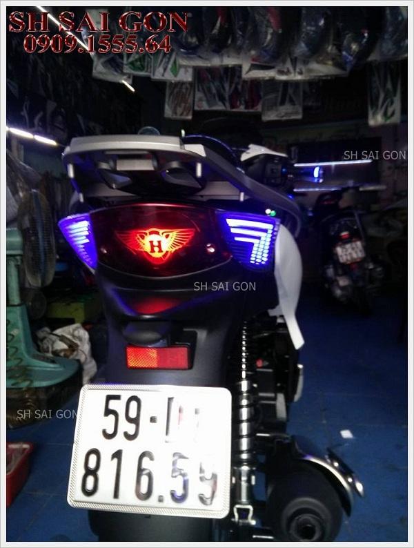 Image đèn led audi xinhan sau cá tính cho xe SH 2017 giá thấp uy tín tại SG