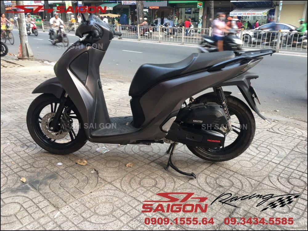 Hình ảnh độ sporty xe SH chuyên nghiệp giá ưu đãi tại Hồ Chí Minh